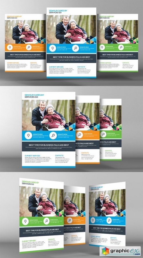 Senior Care Flyer Template 361507