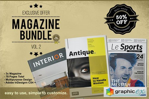 50 % Off �� MGZ Bundle Vol. 2
