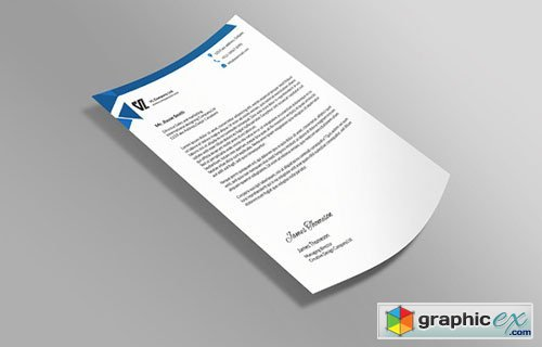 Corporate Letterhead 7 in 1