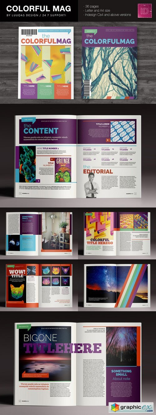 The Colorful Magazine