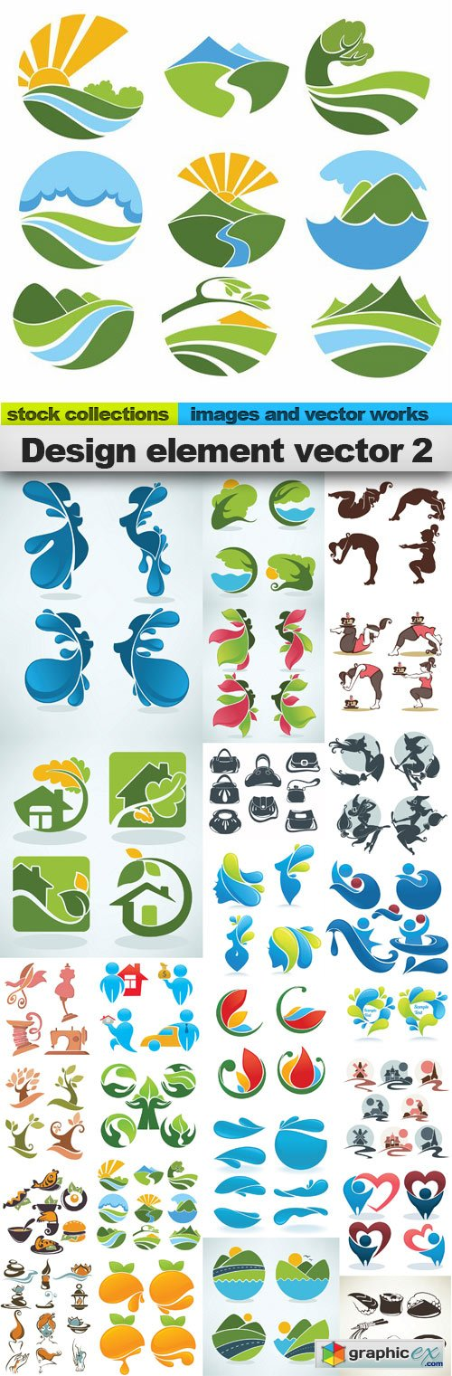 Design element vector 2,25 x EPS