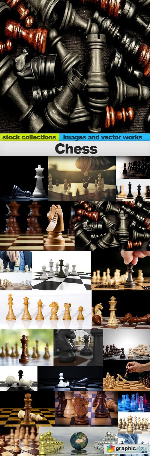 Chess,25 x UHQ JPEG