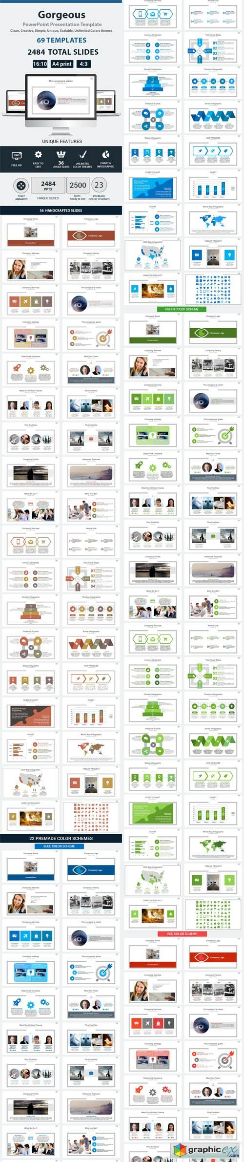Gorgeous PowerPoint Presentation Template