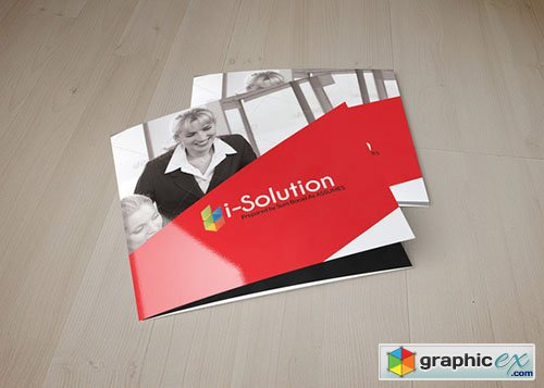 Business Square Trifold Brochure 352536