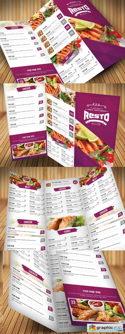 Clean Food Menu 372187