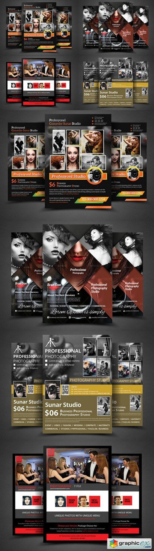 Photography Business Flyer Bundle 374404