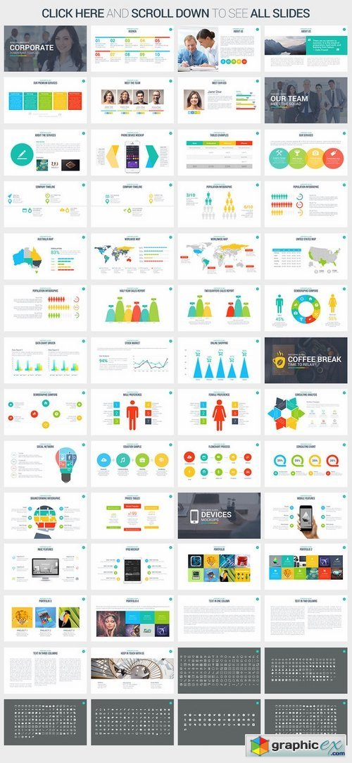 Corporate PowerPoint Template 375918