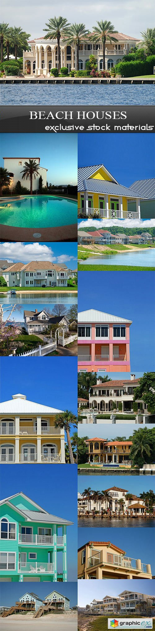 Beach Houses - 15 UHQ JPEG