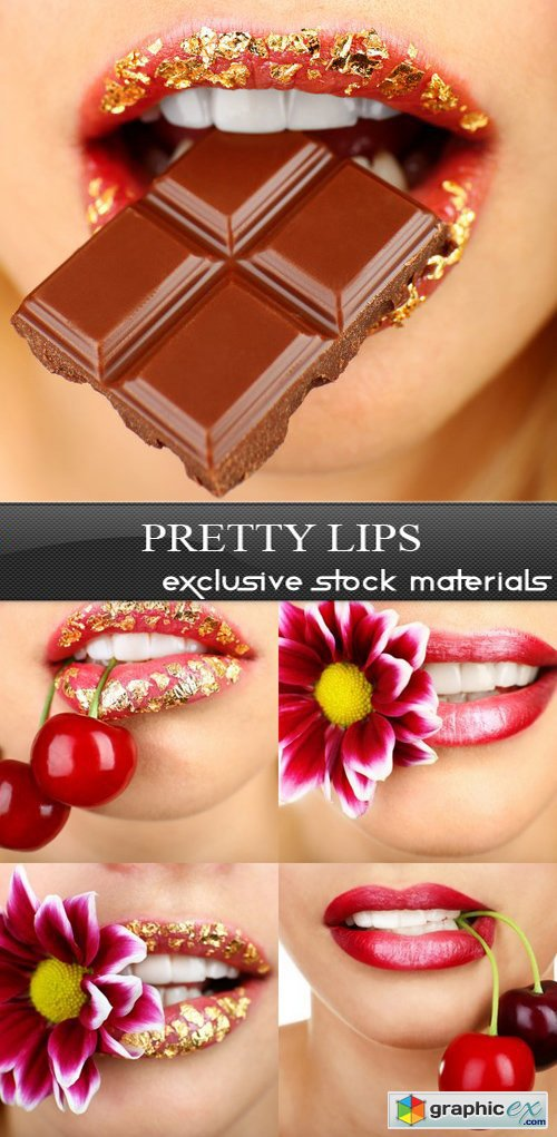 Pretty Lips - 5 UHQ JPEG