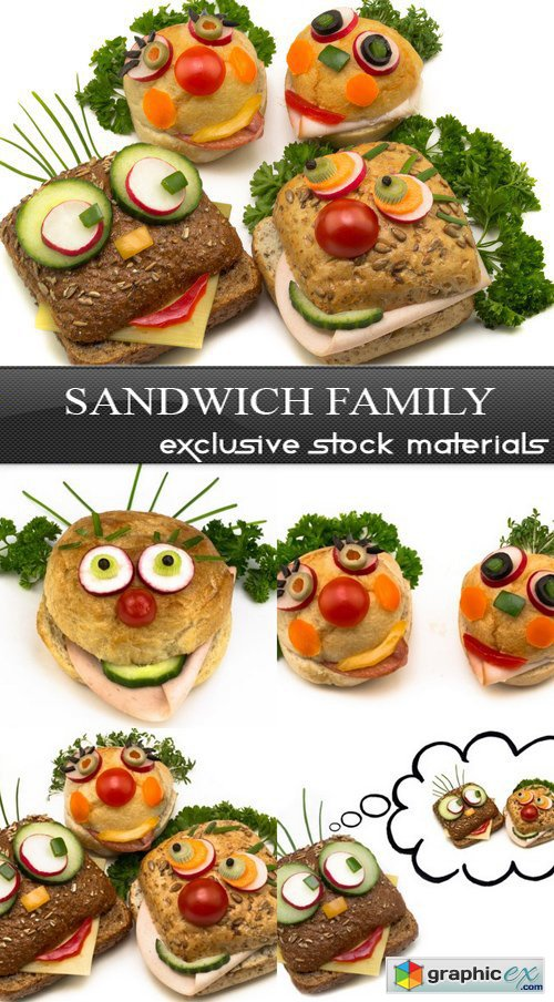 Sandwich Family - 5 UHQ JPEG