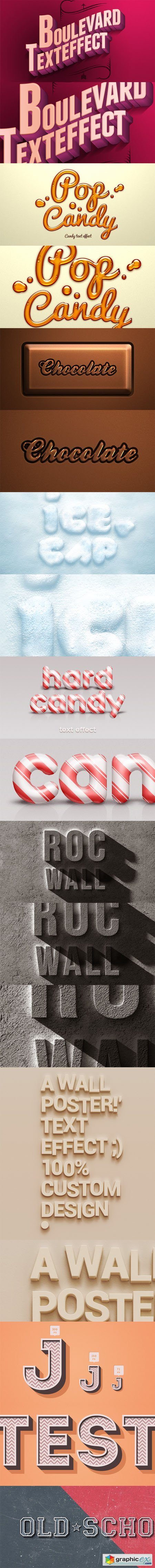 9 PSD Text Effects