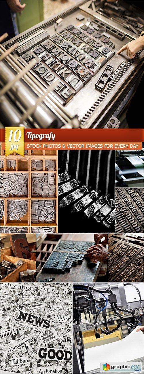 Tipografy, 10 x UHQ JPEG