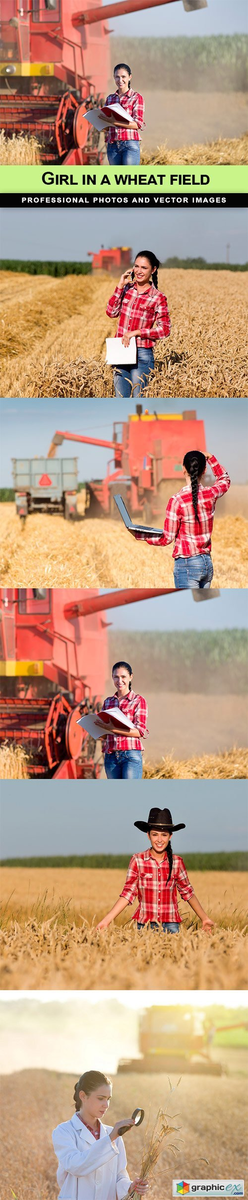 Girl in a wheat field - 5 UHQ JPEG