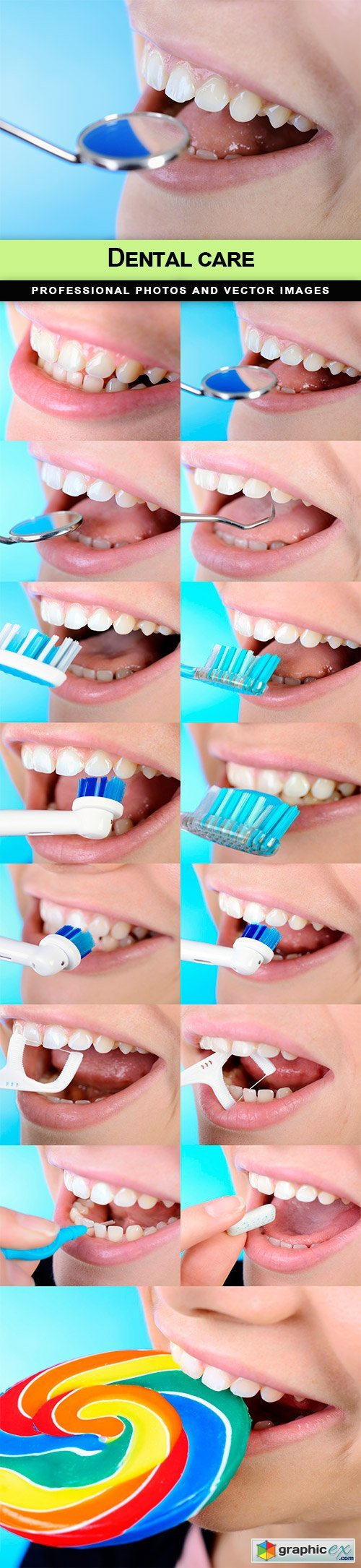 Dental care - 15 UHQ JPEG