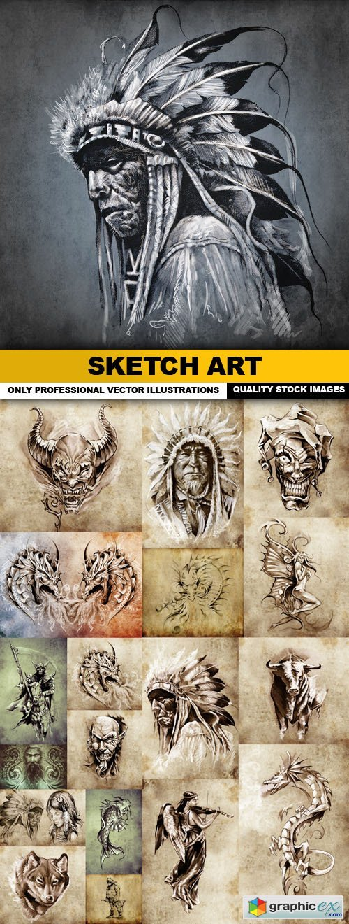 Sketch Art - 19 HQ Images