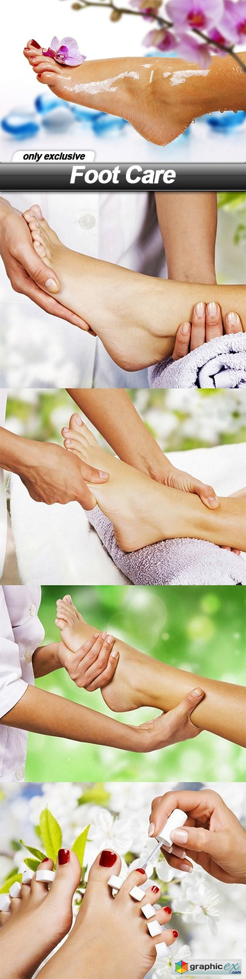 Foot Care - 5 UHQ JPEG