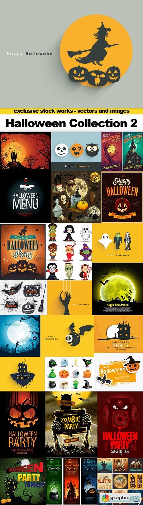 Halloween Collection 2 - 25x EPS