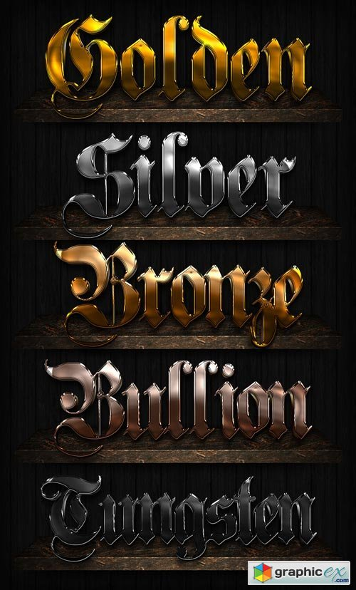 Bling Text Styles for Photoshop