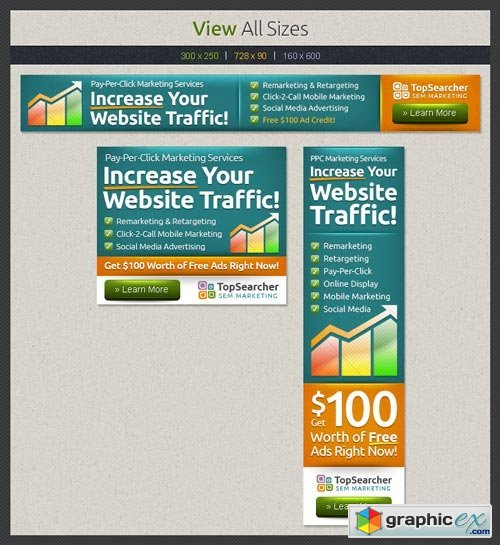 Search Marketing Web Banners