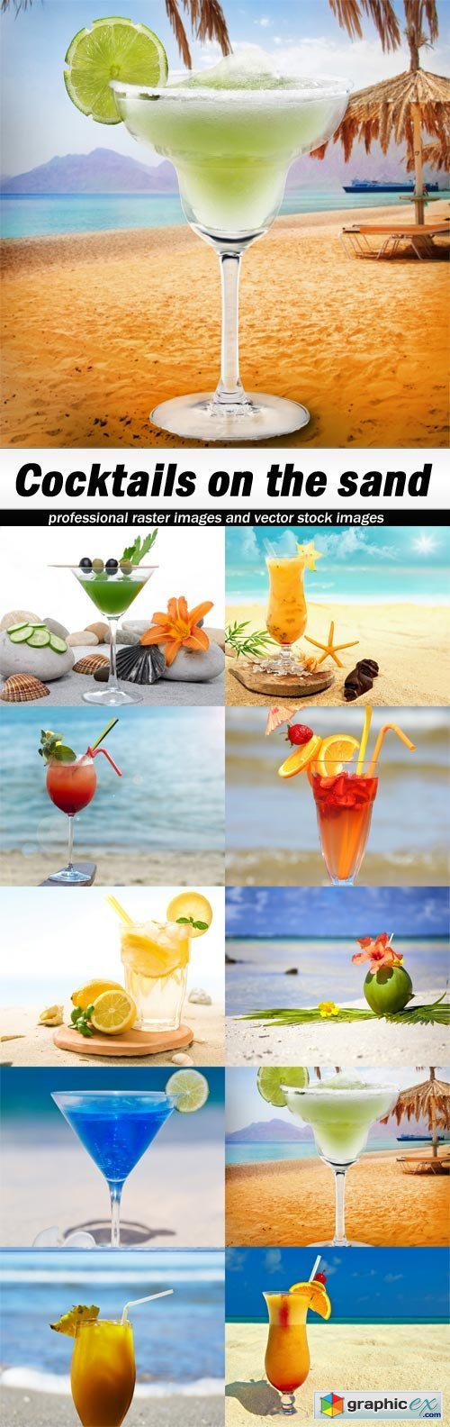 Cocktails on the sand