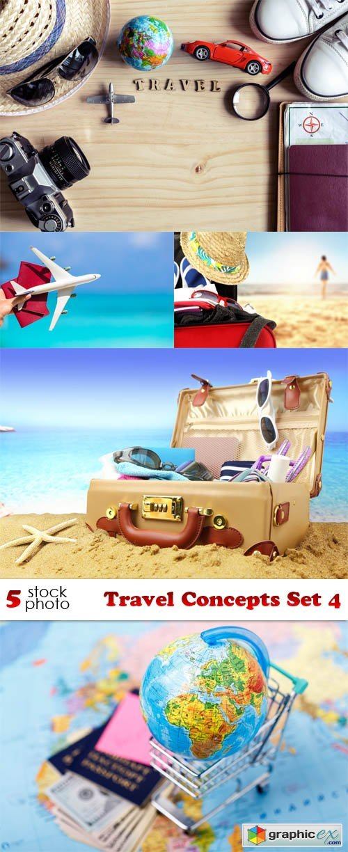 Photos - Travel Concepts Set 4