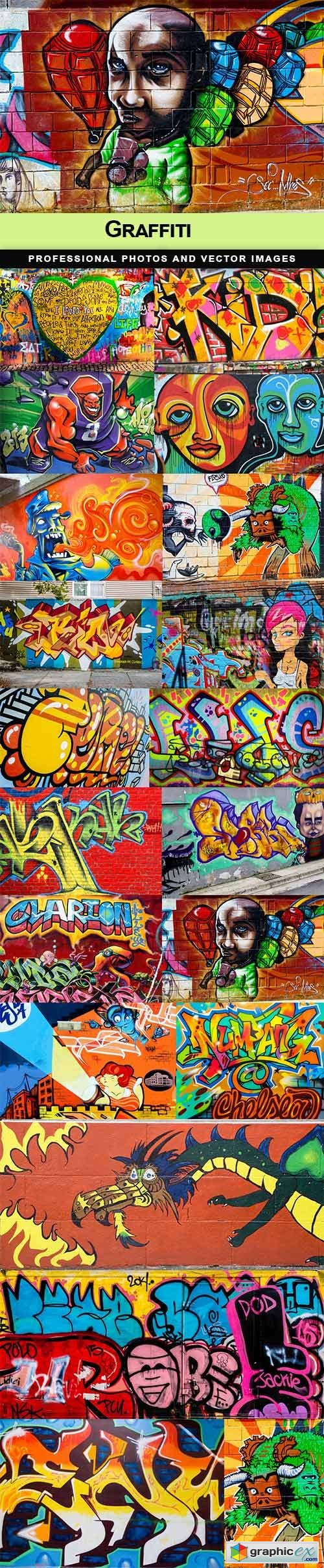 Graffiti - 20 UHQ JPEG