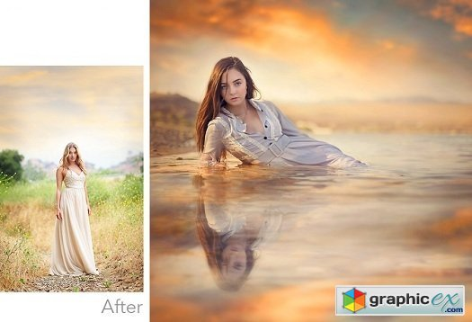 Jessica Drossin One-Click Portrait Perfection PS Actions