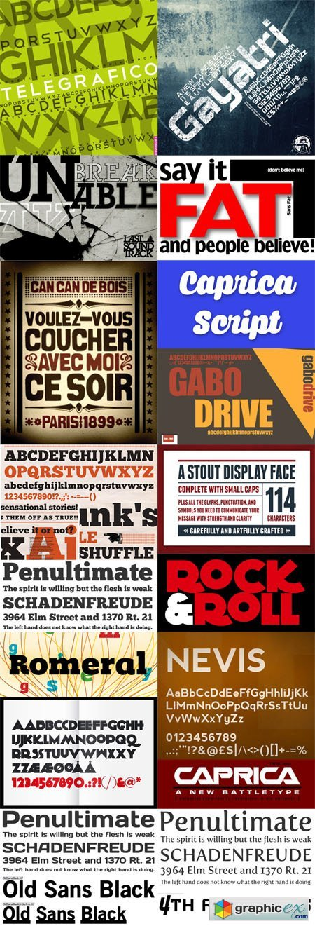16 Big Fonts for Remarkable Headlines