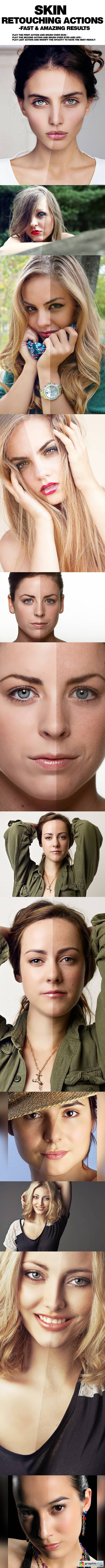 PRO Skin Retouching Actions