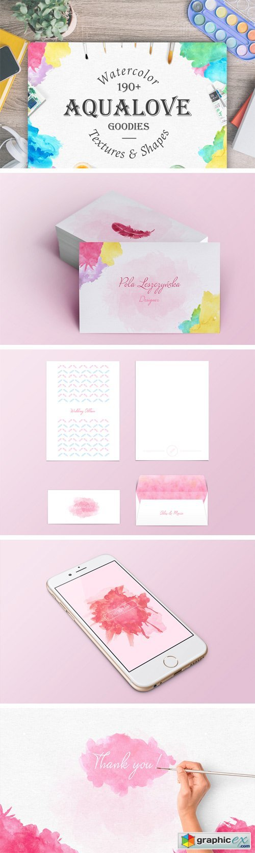 Aqualove Watercolor Goodies