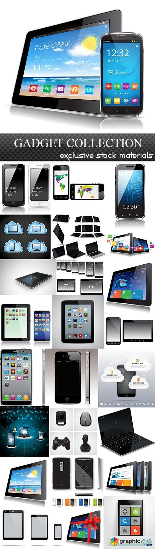 Gadget Collection, 25xEPS