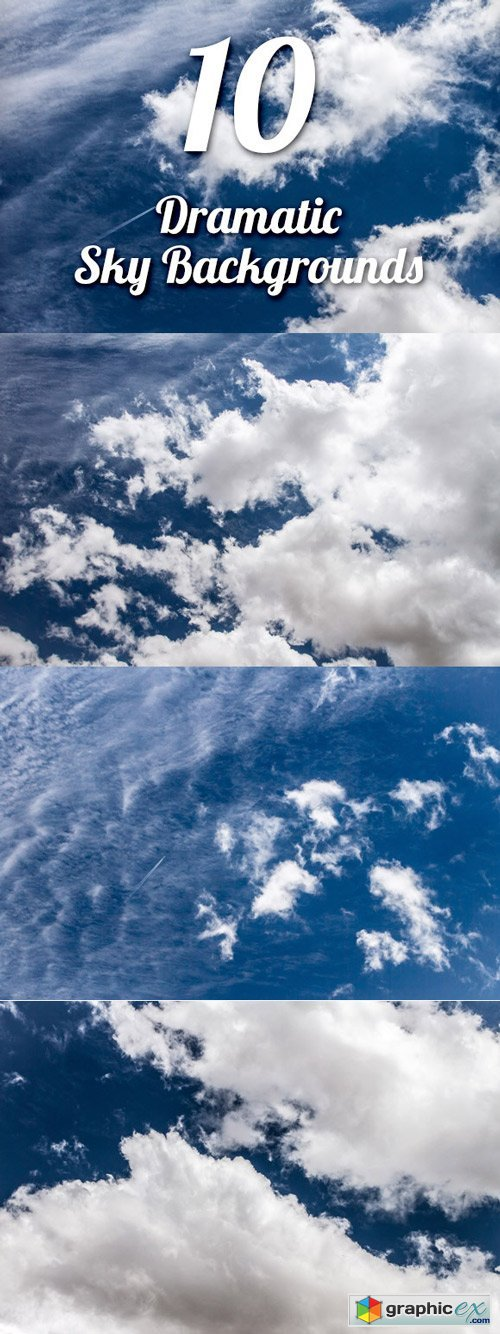 CM - Dramatic Sky Backgrounds Pack 1 - 537