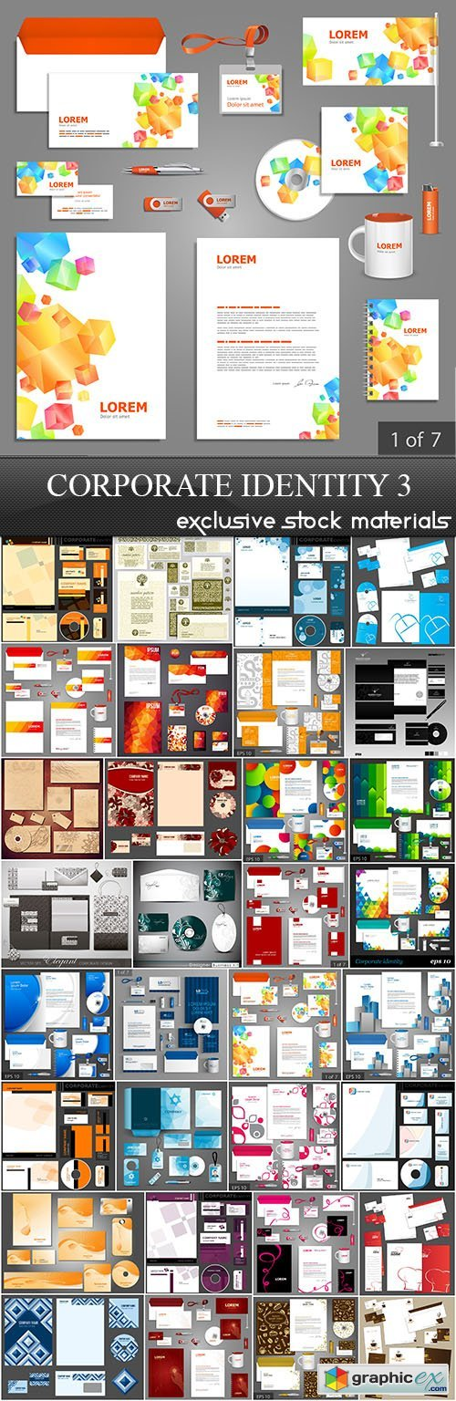 Corporate Identity Collection 3, 32xEPS