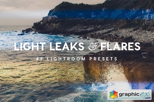 Light Leaks & Flares Lightroom Presets