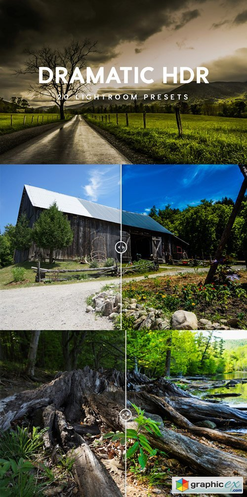 Dramatic HDR Lightroom Presets