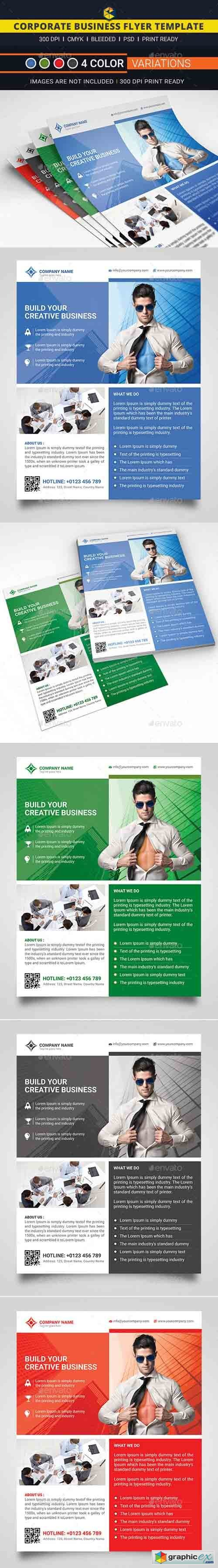 Corporate Business Flyer 12373643