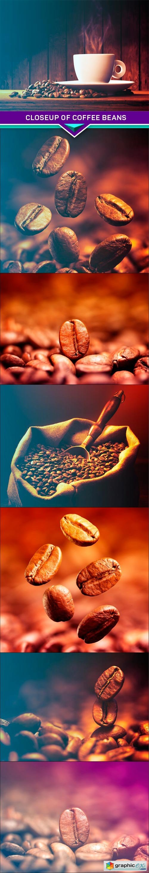 Closeup of coffee beans 7x JPEG