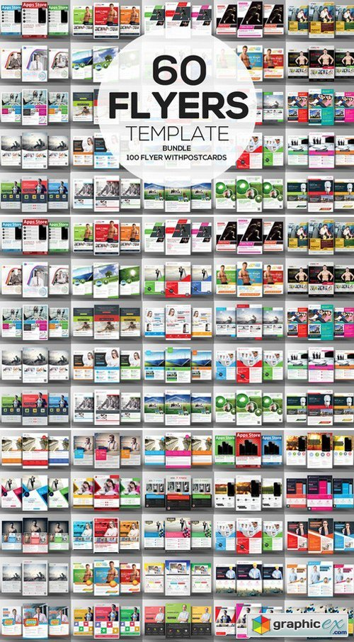 60 Business Flyers Bundle 10 Freebie