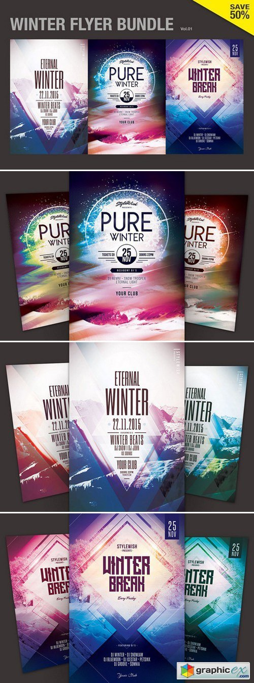 Winter Flyer Bundle Vol.01