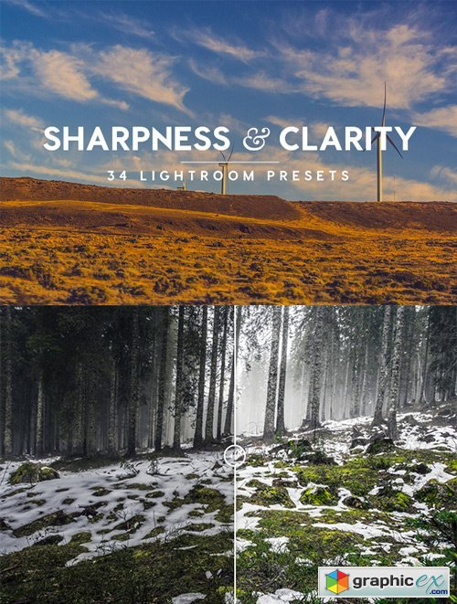Sharpness & Clarity Lightroom Presets