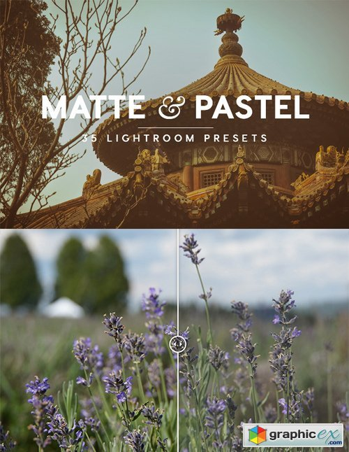 Matte & Pastel Lightroom Presets