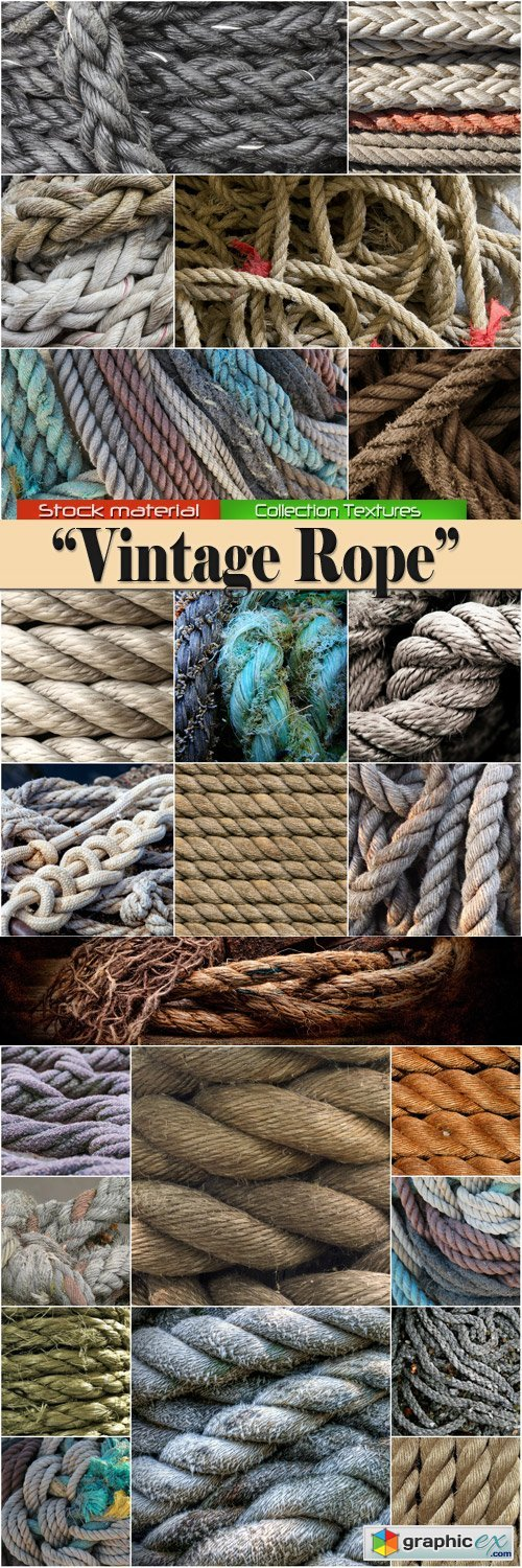 Collection Textures ? Vintage Rope