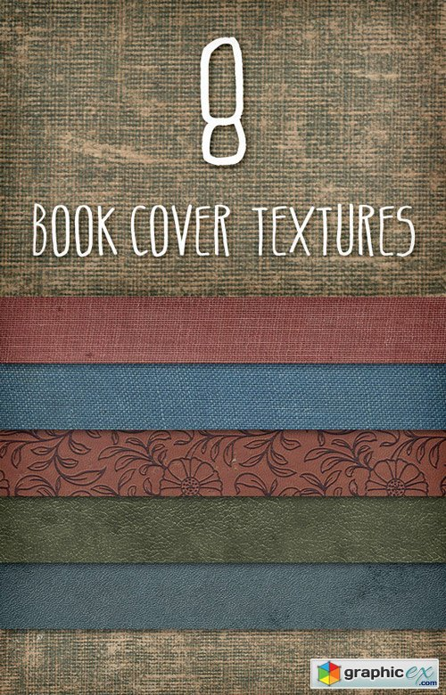 CM - Old Book Covers Texture Pack 1 - 548
