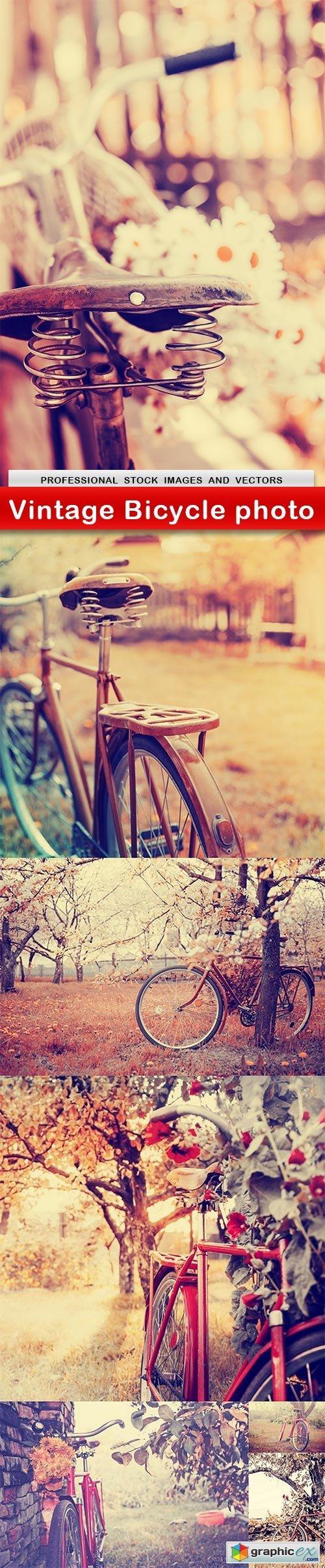 Vintage Bicycle photo - 7 UHQ JPEG