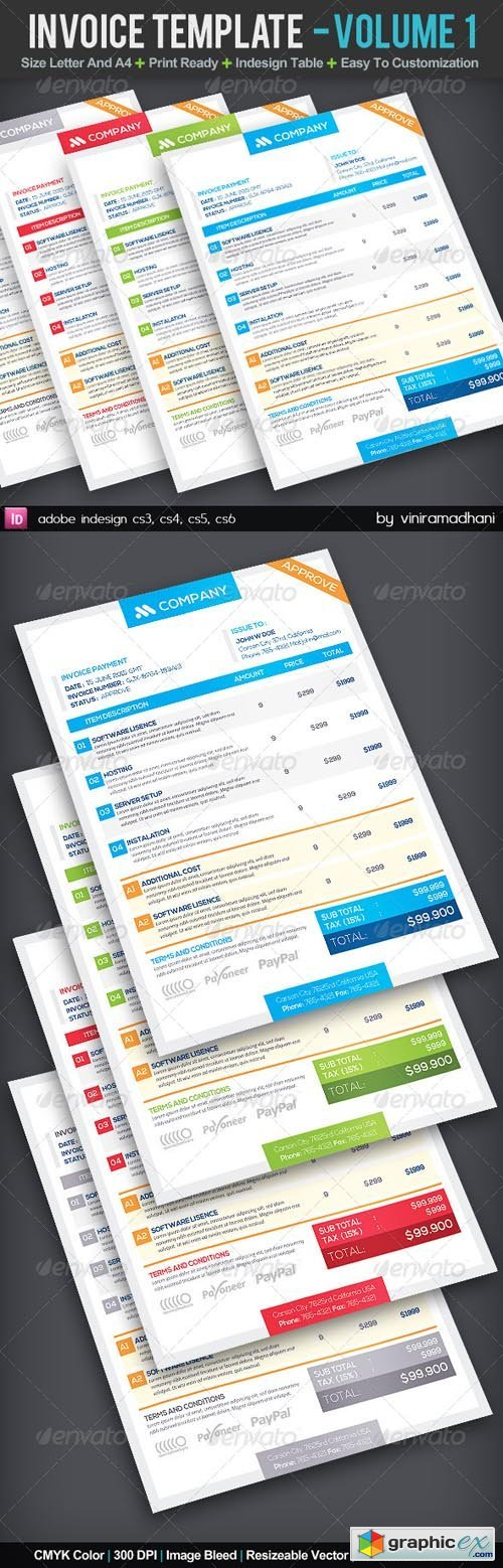 Invoice Template | Volume 1