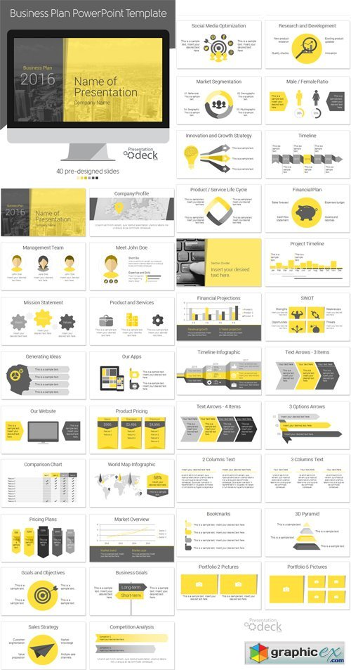 Business plan powerpoint template 393333 free download vector business plan powerpoint template 393333 wajeb