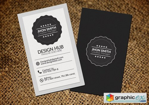 Retro Vintage Business Card