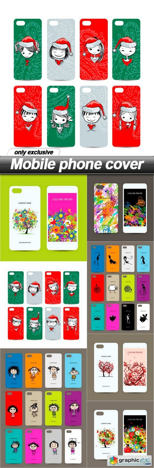 Mobile phone cover - 7 EPS