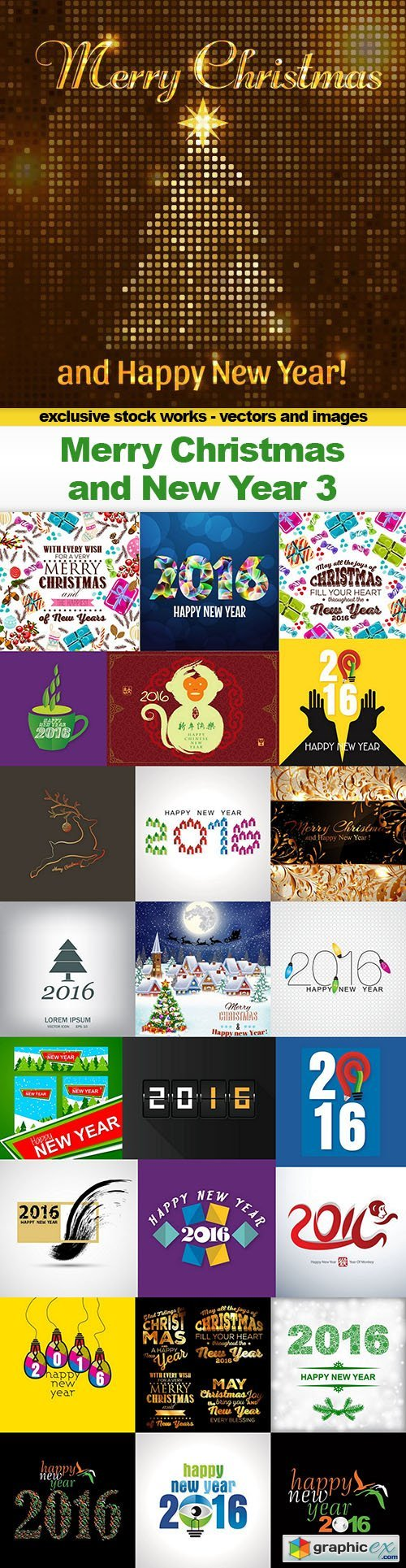 Vector free download vector stock image photoshop icon merry christmas and new year 3 25x eps gumiabroncs Images