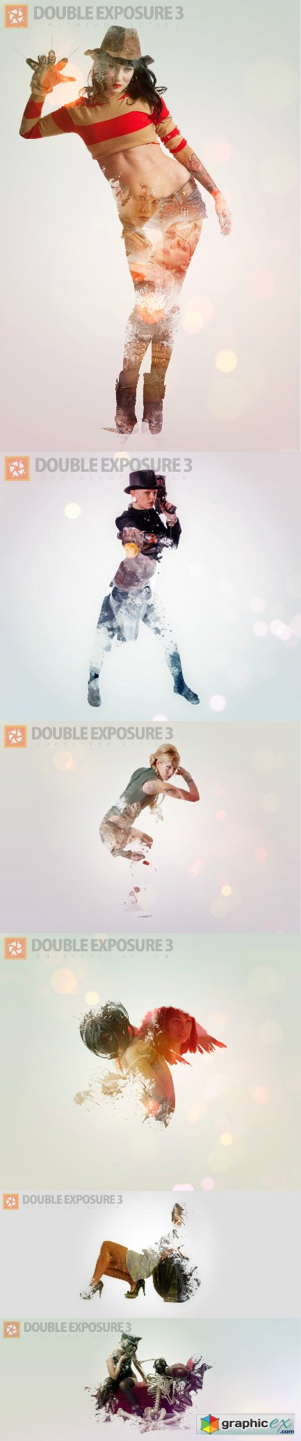 Double Exposure 3 Photoshop Action